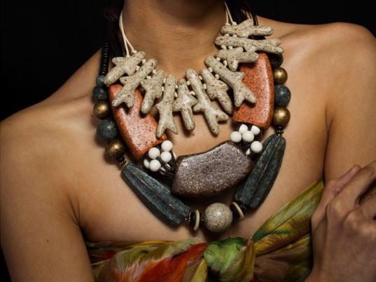 תכשיטים מפסולת אורגנית. באדיבות NaturesCast