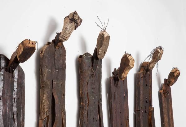 עבודות של פישר שיוצגו בתערוכה בגלריה בזל (צילום: באדיבות גלריה בזל)