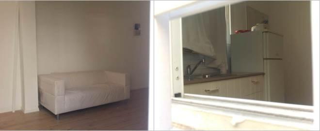 הדירה מבעד החלון הפתוח, רחוב בן עטר, 3 באפריל 2016