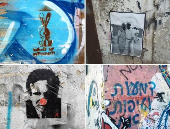 על הקיר בסמטת המחוגה, 2011-2014