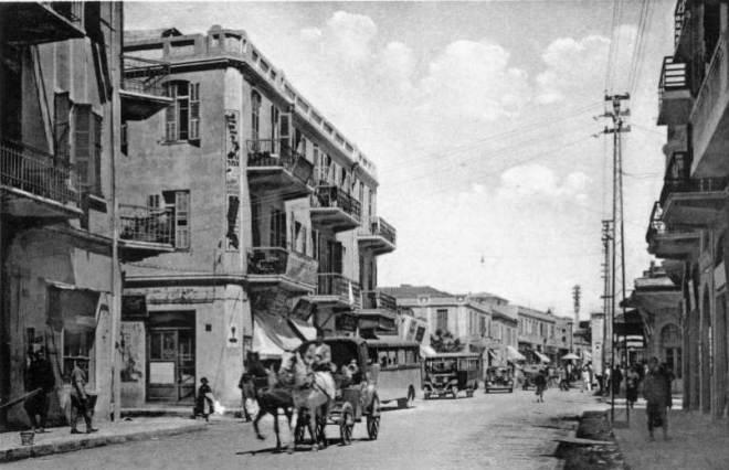 שכונת מרכז מסחרי, תאריך לא ידוע (צילום באדיבות ארכיון עיריית תל אביב)