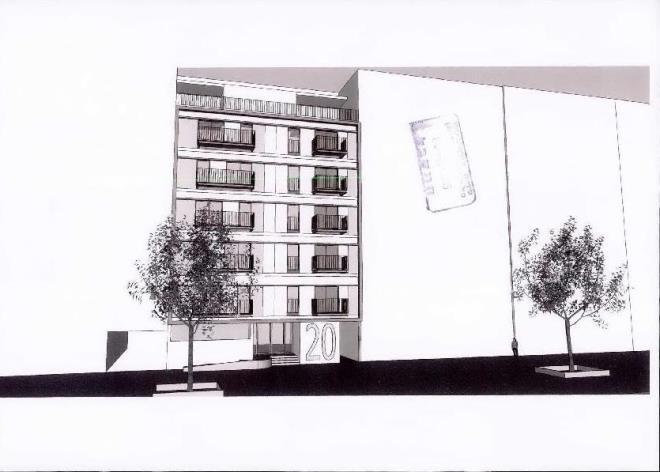 וושינגטון 20. מתוך תיק הבניין בארכיון עיריית תל אביב יפו