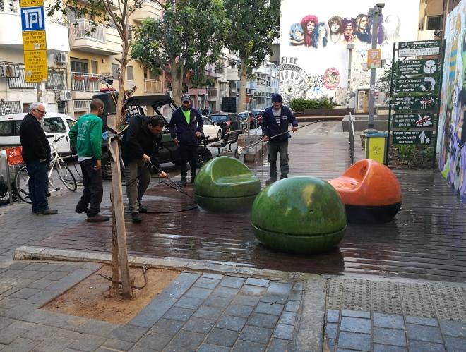 רחוב בן עטר, 8 בינואר 2018