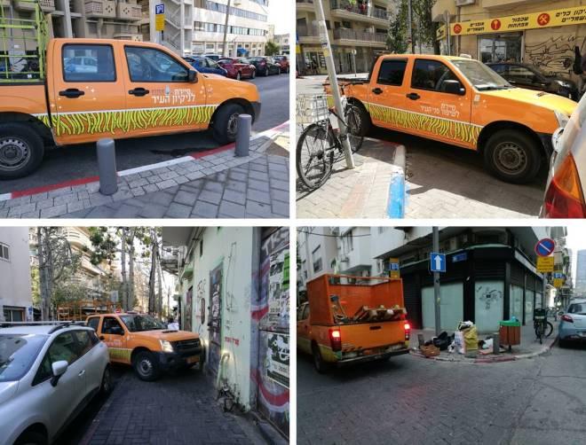 הכתומים בפעולה ברחובות אברבנאל, פרנקל, אקוסטה ופלורנטין