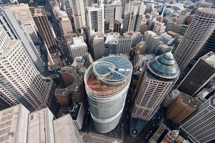 והנה המגדל במבט מלמעלה (צילום: H.G. Esch, Hennef)