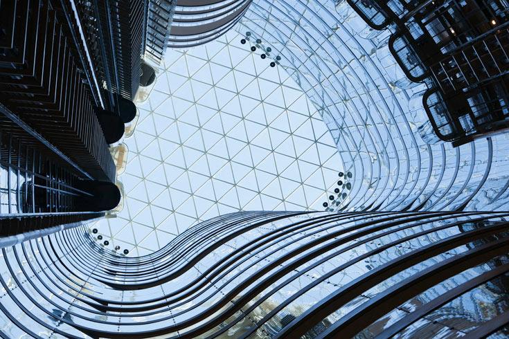 המשרד של אינגנהובן אחראי למגדל הסביבתי הראשון באוסטרליה: מגדל בליי1 בסידני (צילום: H.G. Esch, Hennef)