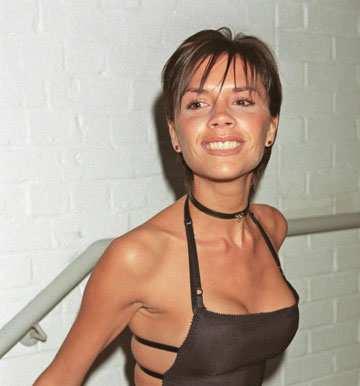 1999: ויקטוריה עם פוני לא מחמיא (צילום: gettyimages)