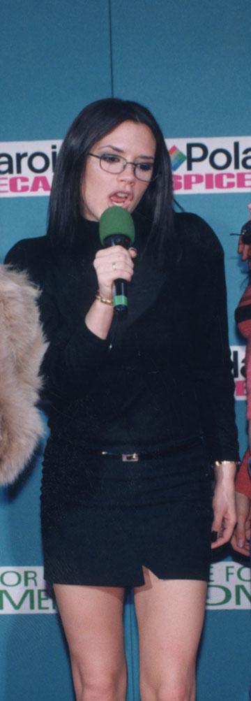 1997: ויקטוריה בקהאם בקארה משעמם (צילום: gettyimages)