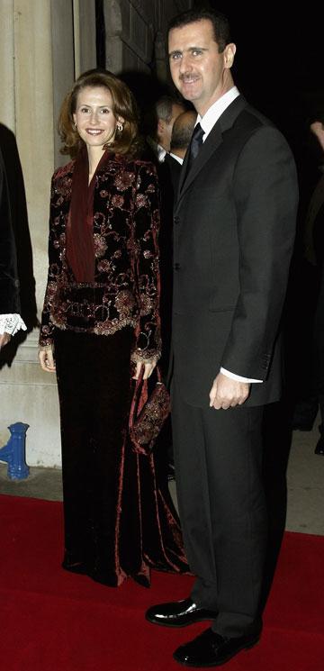 בביקור בבריטניה, 2002. ממשלת סוריה שכרה את  משרד הלובינג ''בראון לויד ג'יימס'' (צילום: gettyimages)