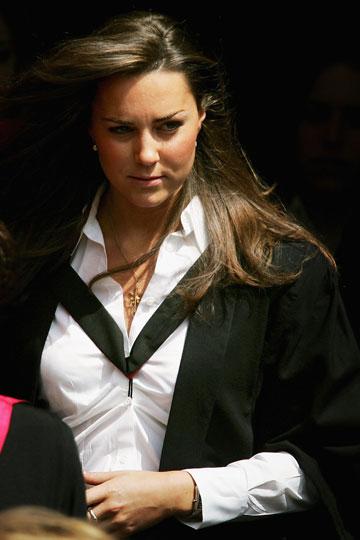 זוכרים שככה היא נראתה? קייט מידלטון ב-2005 (צילום: gettyimages)