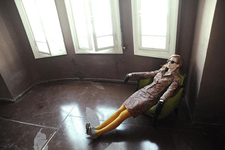 אליאן סטולרו. מכירת סוף עונה אצל מעצבת האופנה (צילום: איתן טל)