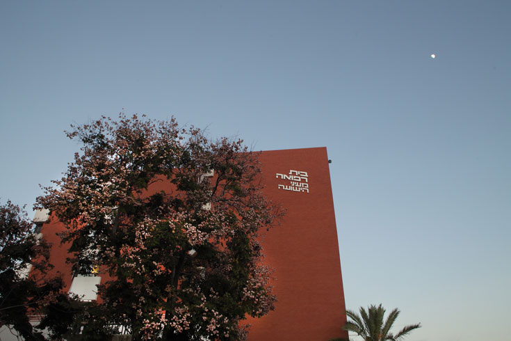 המרכז הרפואי ''מעייני הישועה'' מסמל את גמילות החסדים  (צילום: אמית הרמן)