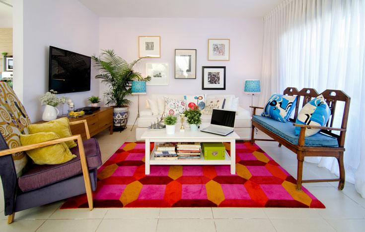דירה שכורה וסטנדרטית בפתח תקווה, עם רצפות גרניט פורצלן זולות ומטבח קבלני בסיסי (צילום: אילן נחום)