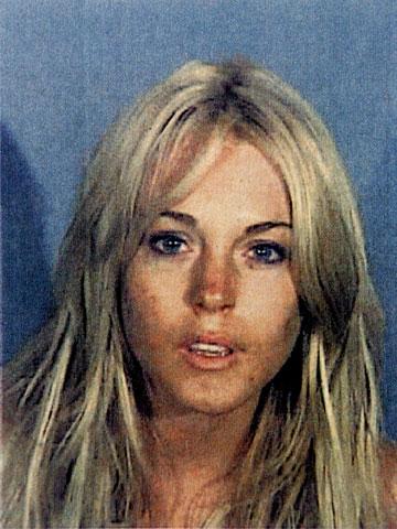 תמונת המעצר של לוהן, 2007 (צילום: gettyimages)