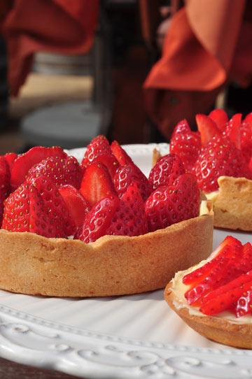 טארט תותים (צילום: דן חיימוביץ')