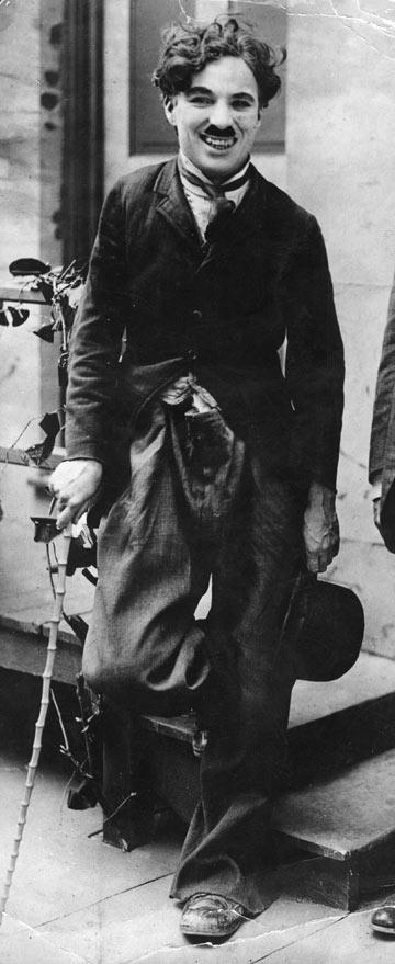 צ'ארלי צ'פלין, 1917 (צילום: gettyimages)