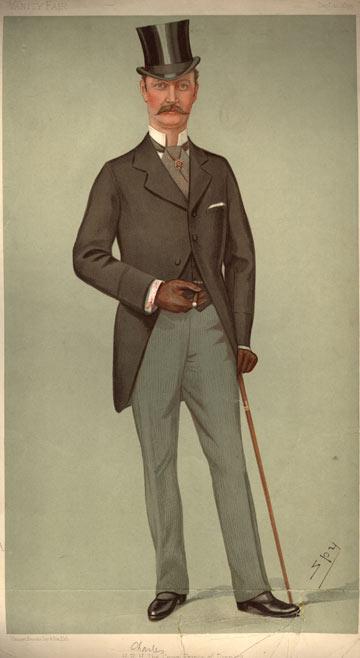 המלך האקון השביעי מנורבגיה, 1899 (צילום: gettyimages)