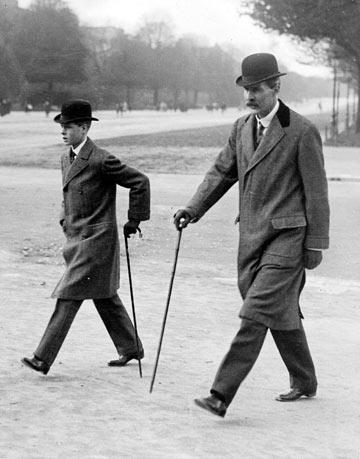 מלך אנגליה אדוארד השמיני, 1912 (צילום: gettyimages)