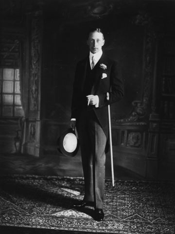 הנסיך הגרמני פרידריך וילהלם, 1930 (צילום: gettyimages)