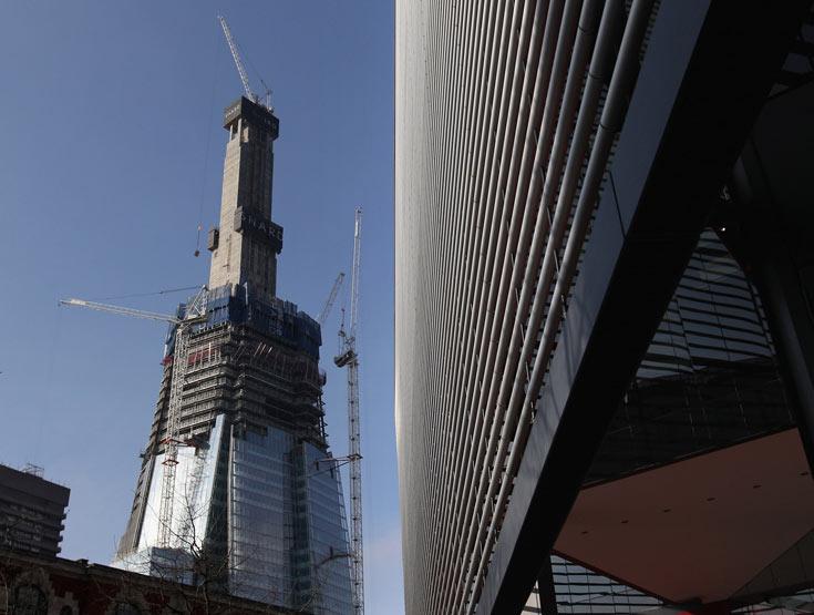 בעיר שאינה מתלהבת לתת אישורים למגדלים, גובהו (310 מטר) הופך אותו לנקודת ציון מרכזית (צילום: gettyimages)