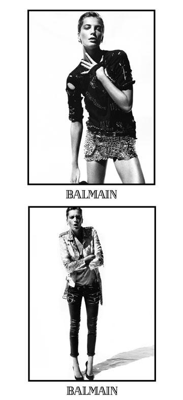 קשוחה בקמפיין אביב-קיץ 2011 של בלמן