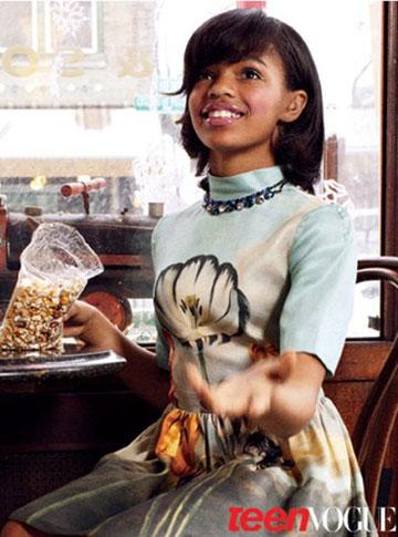 סלה מארלי מדגמנת למגזין Teen Vogue
