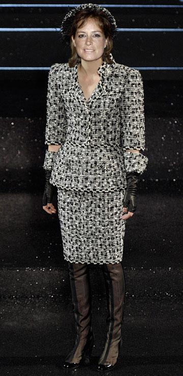 כך תיראה אורלי דנקנר בשאנל. אפשר להבריק בלבוש בלי לנקר עיניים (עיבוד תמונה: נעם רוזנברג)