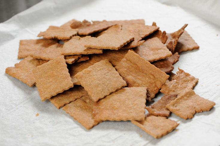 מחווה לעוגיות השומר המרוקאיות. עוגיות שיפון וקינמון (צילום: דודו אזולאי)