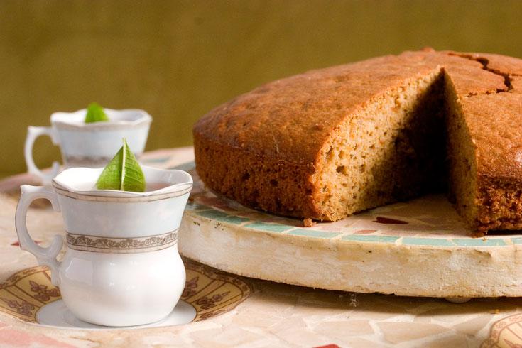 מחממת טבעית. עוגת קינמון (צילום: רן גולני)