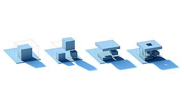 מתוך המודלים של האדריכלים (באדיבות Architects of Invention)