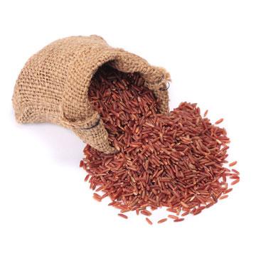 אורז אדום. עשיר בסיבים תזונתיים וויטמין B (צילום: shutterstock)