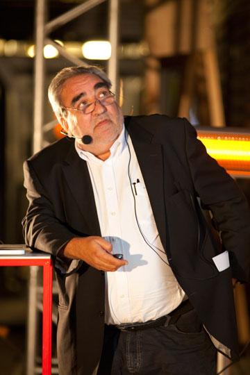 אדוארדו סוטו דה מורה. חניכו של סיזה (צילום: cc, Strelka Institute)