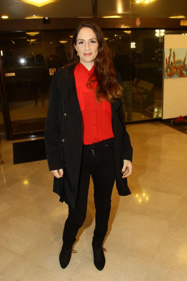 יפה לה אדום. טלי שרון (צילום: רפי דלויה)