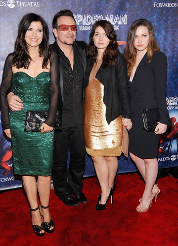 איב יוסון והמשפחה. לא מנסה לשדר רוקנרול (צילום: gettyimages)