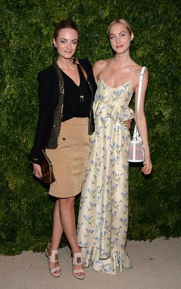 ורג'יני וקלייר קורטין-קלרינס. גם בלונדיניות, גם עשירות וגם יודעות להתלבש (צילום: gettyimages)