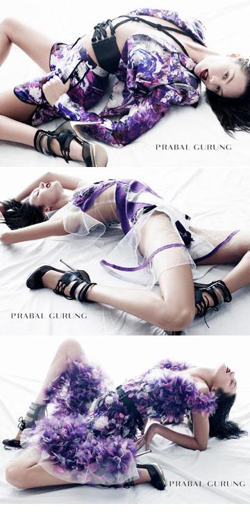 גם מותגי האופנה היוקרתיים כבר התאהבו. סוונפול בקמפיין של פראבל גורונג