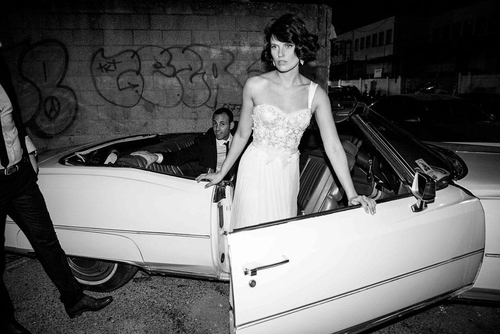 צילומי הכלה של עדי נוימן. ''היום כולן רוצות להיות כוכבות, בטח ביום החתונה שלהן'', אומר רון קדמי (צילום: רון קדמי)