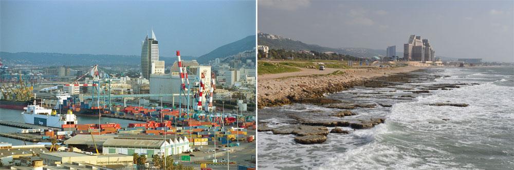 שרידים אחרונים לחופש, לטבע ולשקט. איך מתכוונת עיריית חיפה להיזכר בדברי ימי ההיסטוריה? (צילום: צבי רוגר)
