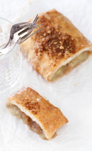 שטרודל תפוחים ואגסים ללא סוכר (צילום: אפיק גבאי)