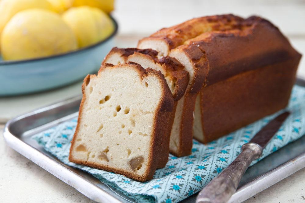 עוגת לימון וג'ינג'ר (צילום: שירן כרמל, סגנון: שרון טמיר)