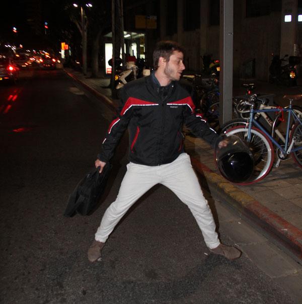 רוץ, מיכאל, רוץ! (צילום: ניר פקין)