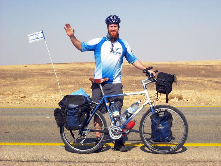 """""""היה לי פחד מאופניים, אבל מה שיפה בפחד זה שאם אתה רץ אליו – הוא בורח ממך"""" (צילום: רועי סדן)"""