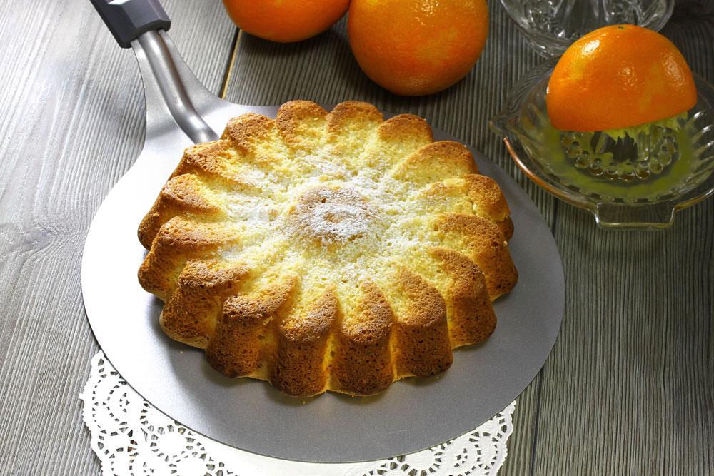 פשוטה וטעימה. עוגת תפוזים (צילום: יעקב הררי ואסנת לסטר)
