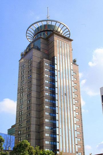 Futures Building. אחד הנוכחים הסיניים בסרט, שמשלב עיר אמריקאית וסינית (צילום: cc,Ferox Seneca)
