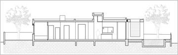 חתך הבית (תכנית: SaaB Architects)