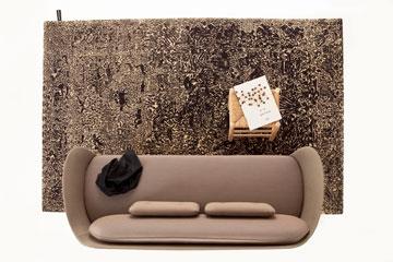 100% צמר ניו זילנדי בעבודת יד. השטיח החדש של ''נאני מרקינה'' (באדיבות טולמנס)