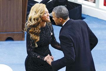 האם היא הסיבה האמיתית למשבר הנוכחי? ברק אובאמה והידידה הטובה ביונסה (צילום: gettyimages)