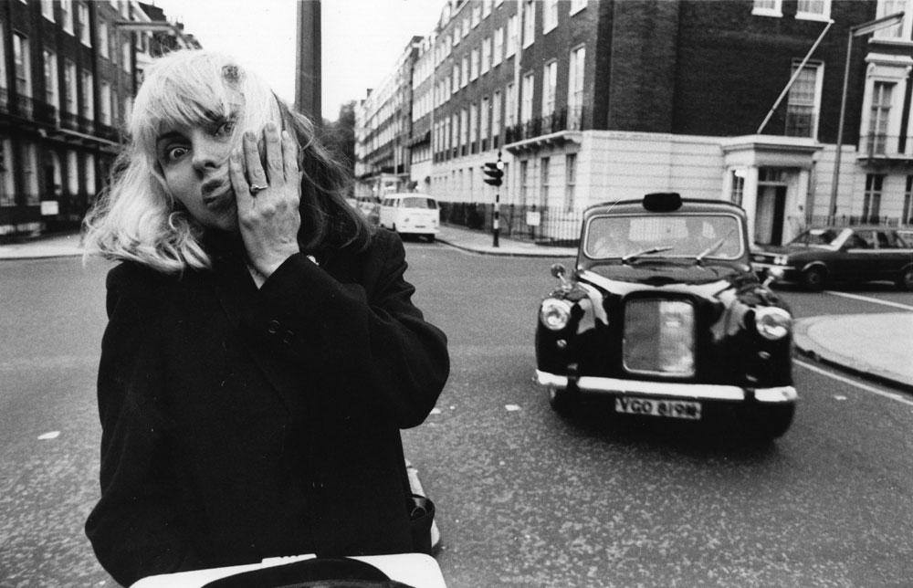 הצד הפוחז של הסבנטיז. דבי הארי, 1977 (צילום: gettyimages)