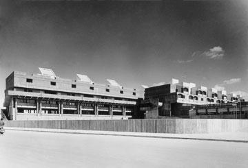 מרכז הנגב בבאר שבע, בתכנון רם כרמי. גם הוא ייצבע בלבן? (באדיבות רם כרמי אדריכלים)