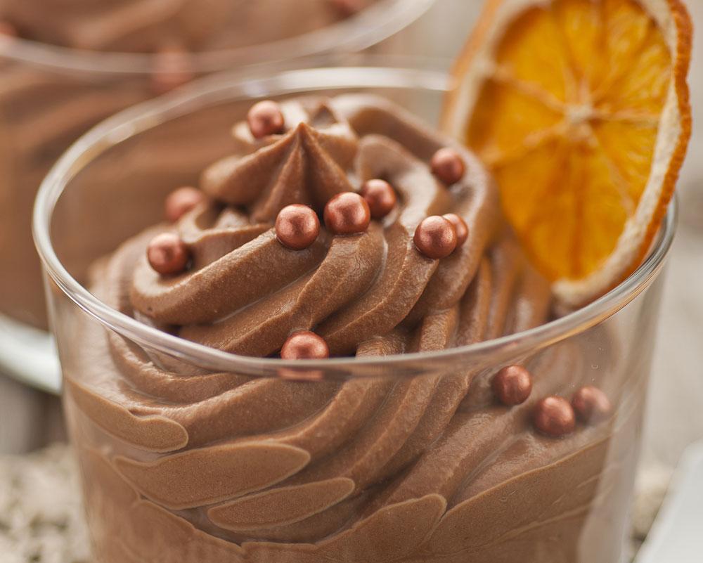 והוא גם פרווה. מוס שוקולד מ-2 מרכיבים (צילום: shutterstock)